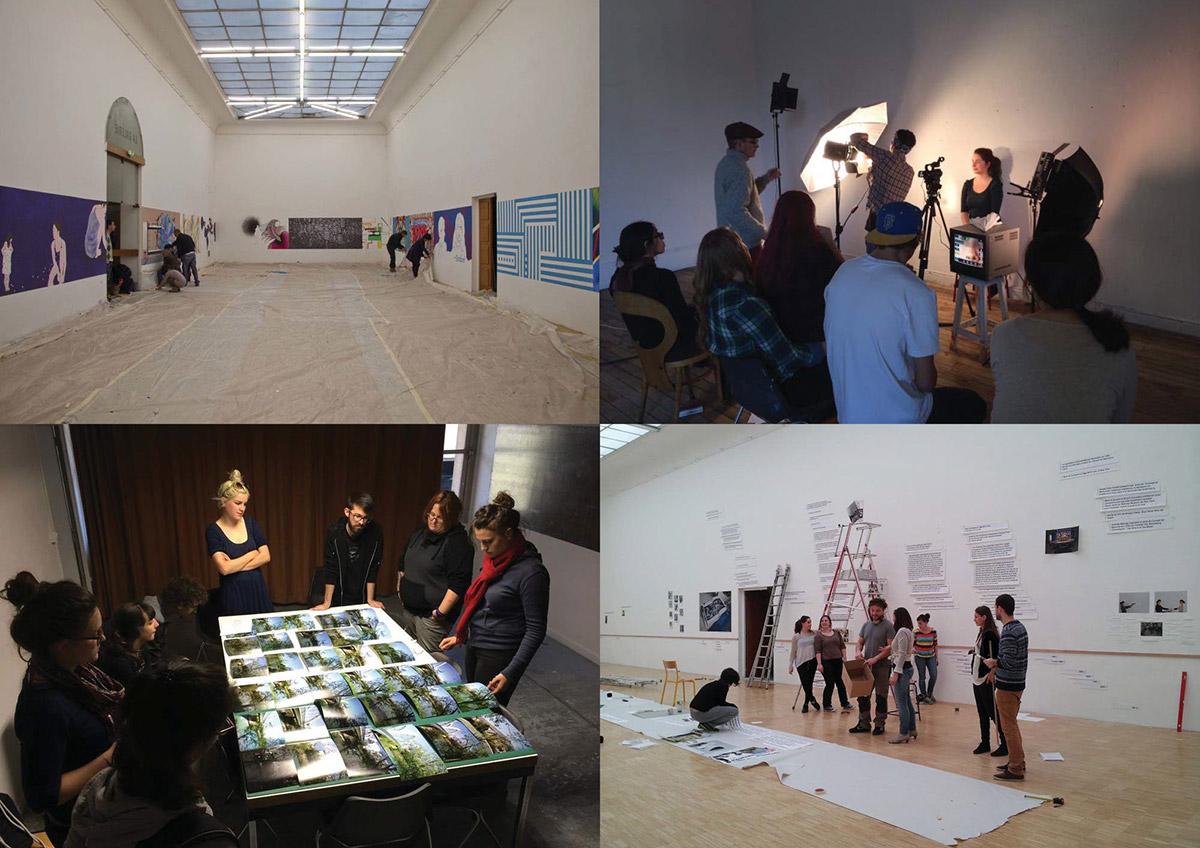 Exposition Accelerando des étudiants de l'ESAD Grenoble Valence
