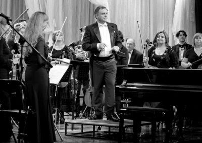 28/07 – MARK DROBINSKY, NINA MELIKISHVILI et l'Orchestre à cordes de Minsk dirigé par Alexandre SOSNOVSKY – «Autour de Mozart»
