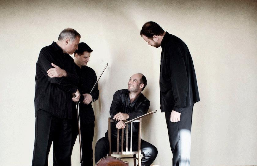 Quatuor Talich en concert au Prieuré de Chirens