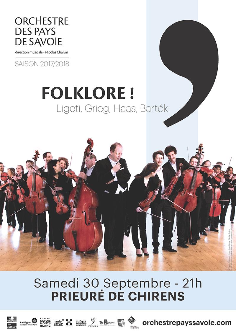 Orchestre des Pays de Savoie - Concert - Prieuré de Chirens