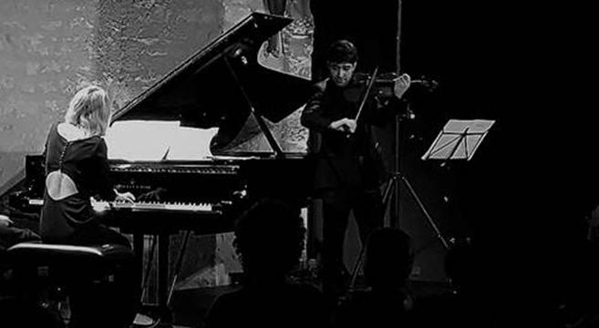 Duo Arar - Concert piano violon gratuit - Prieuré de Chirens